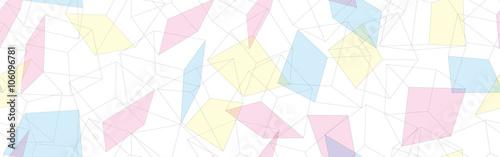 Zdjęcie XXL 3D geometryczny tło bezszwowy wzoru wektor Geometria wzór 3 d