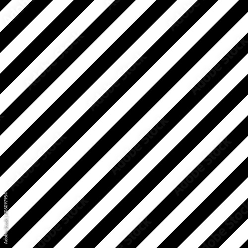 Obraz na płótnie Vector Diagonal Striped Seamless Pattern
