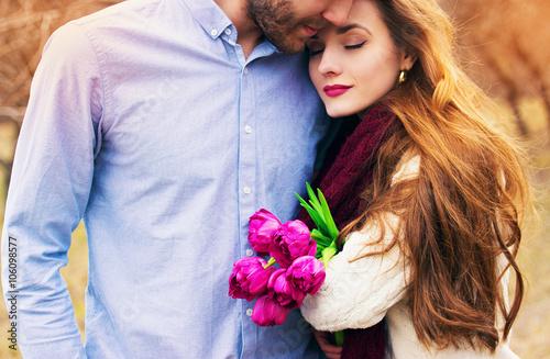 Fotografia  Счастливая молодая пара