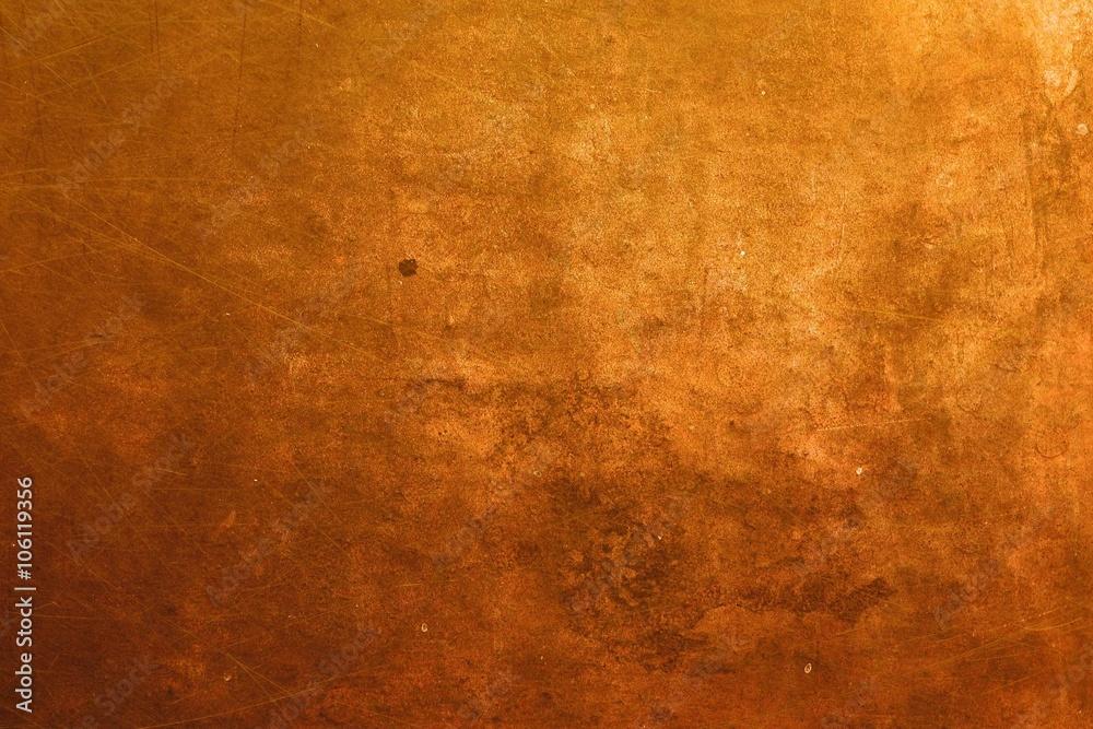 Fototapety, obrazy: copper surface background