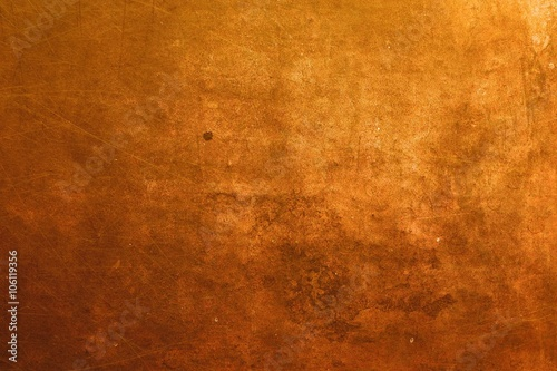 Canvas Print copper surface background