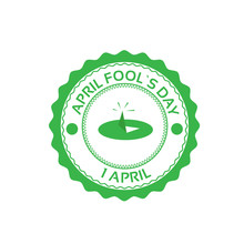 Drawing Pin First April Fool Day Happy Holiday