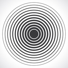 Concentric Circle Elements. Ve...