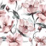 Kwiecisty Bezszwowy wzór - 106138774