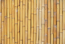 Natural Yellow Bamboo Vertical Bodies Background