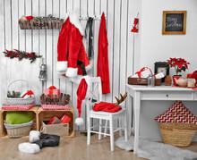Interior Of Santa Claus Home O...