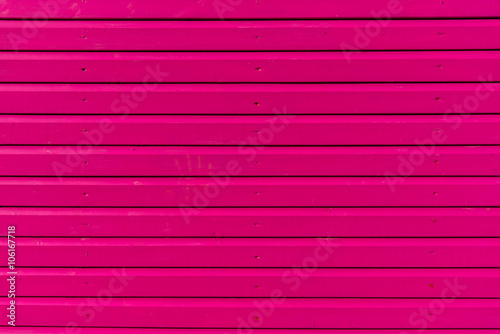 Section Of Pink Wood Panelling From A Beach Hut Suitable For