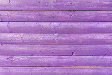 Section Of Purple Wood Panelli...