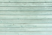 Section Of Pale Green Wood Panelling From A Seaside Beach Hut. Could Be Used As A Background To Illustrate Beach And Summer Holiday Themes. Also Garden Themes.