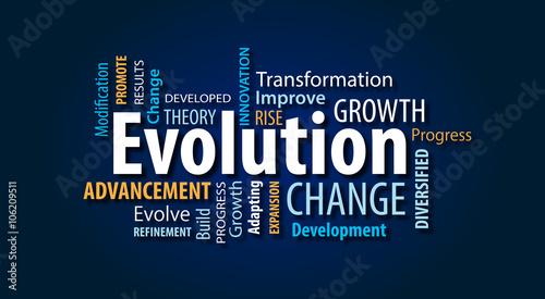 Fototapeta Evolution obraz