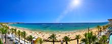 View Of Platja Llarga Beach In...