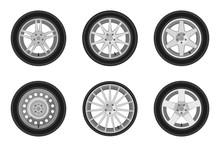 Auto Wheels Set.