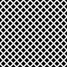 Repeat Black White Square Pattern Background
