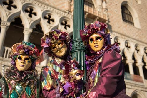 Tuinposter Imagination Maschere Veneziane