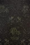 ciemny złoty ściana ornament tekstura tło - 106275593