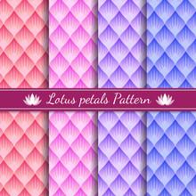 Lotus Petals Abstract Pattern ...