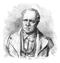 Rodolphe Topffer, His Bronze Bust In Geneva And Facsimile Of His