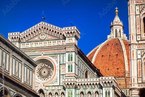 Fotografie, Obraz  The Dome of the Florence Cathedral, Italy