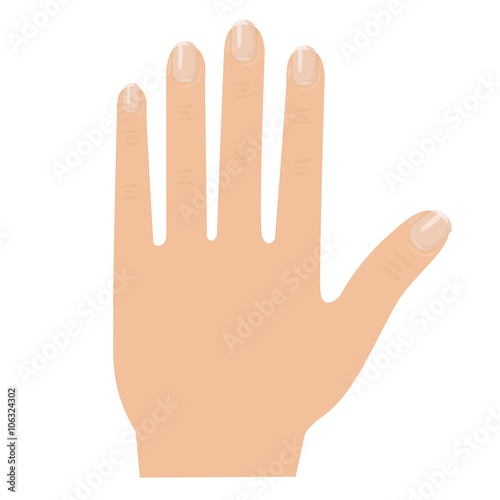 Illustrator of hand - Buy this stock vector and explore