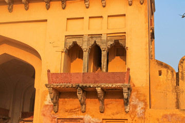дворец-крепость в Индии