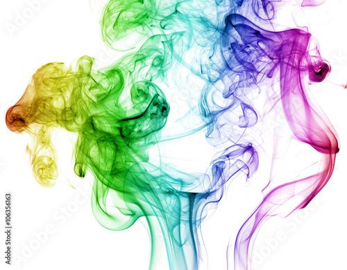 Fotografia  colored smoke