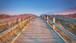 canvas print picture - Weg zum Meer