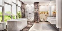 Modern Big Bathroom