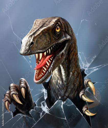 Fotografering  dinosaur