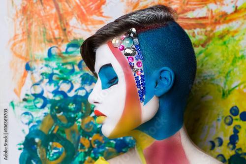 Photo Creative face art