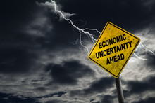 Economic Uncertainty Sign With...