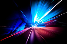 Colorful Speed Motion Background