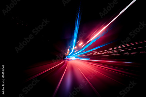 Fotografia Colorful speed motion background