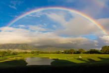 Golf Under The Rainbow In Maui