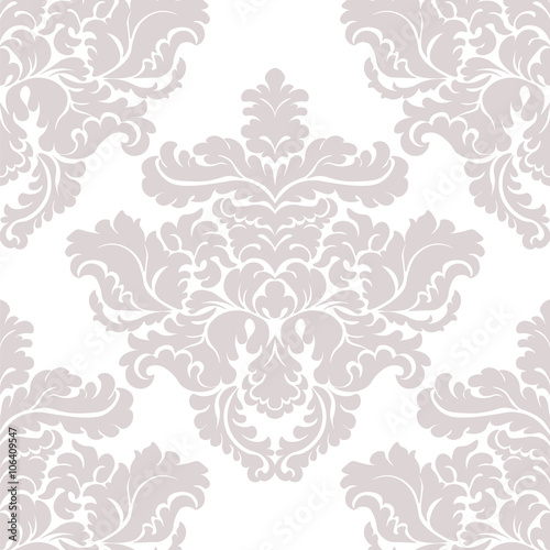 vintage classic damask acanthus leaf ornament element luxury texture for wallpapers backgrounds and invitation cards taupe colors vector buy this stock vector and explore similar vectors at adobe stock adobe stock invitation cards taupe colors vector
