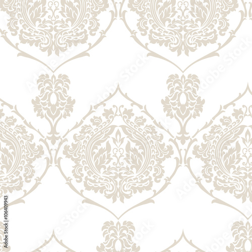 Golden Floral Ornament Pattern Elegant Luxury Texture For