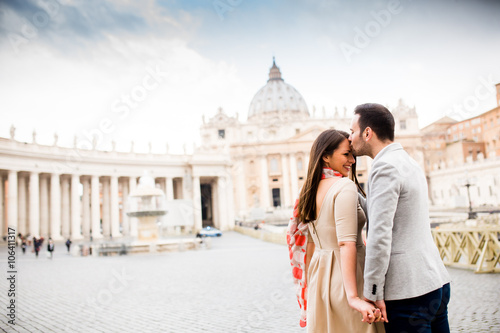 Photo  Couple in Rome