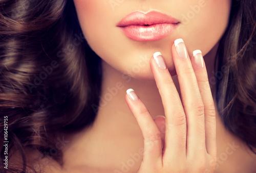 Photographie  Style de luxe de la mode, manucure, les cosmétiques et le maquillage