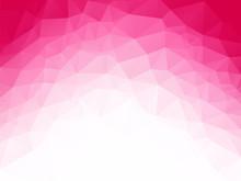 Geometric Pink White Love Background