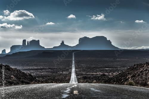 Fotografie, Obraz  Forrest Gump bod v Utahu