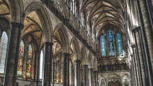 Salisbury Cathedral West Arche...