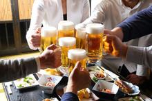 生ビールで乾杯