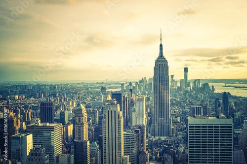 New York city skyline Wallpaper Mural