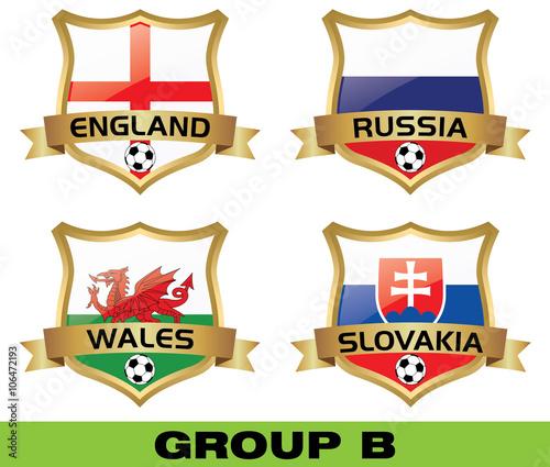 Photo  euro 2016 group b