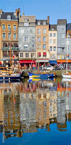 Honfleur, Vieux bassin, Normandie Fototapete