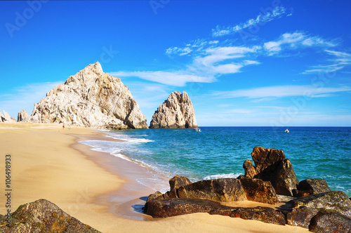 Lovers Beach, Cabo San Lucas, Baja California, Mexico Wallpaper Mural