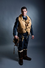 Uniform And Equipment Worn By Pilots And Aircrew Of The Royal Air Force During World War Two.