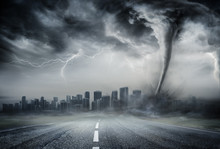 Tornado On The Business Road -...