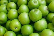 Green Apple Background.