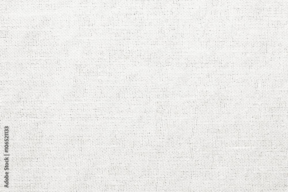 Fototapety, obrazy: White canvas texture.