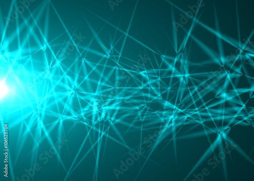 In de dag Fractal waves Abstract backgrounds lights